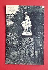 AK DRESDEN um 1910 Bürgerwiese mit Skulptur Venus und Amor      ( 35476