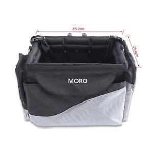 Foldable Cat Dog Pet Travel Shopping Bag Bike Seat Carrier Case+Safety Belt