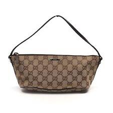 Gucci Canvas Zip Handbags