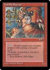 GORILLA SHAMAN (Facing Left) Alliances MTG Red Creature — Ape Shaman Com