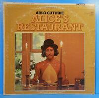 ARLO GUTHRIE ALICE'S RESTAURANT VINYL LP 1967 RE '68 GREAT CONDITION! VG+/VG!!D