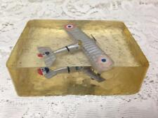 Vintage, Rare, Wwii Airplane Paper Weight or Desk Accessory 4.5in L x 3.5in W