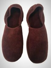 Men's Brown Slippers (Size 11) Machine Washable - R.G. Barry Corp