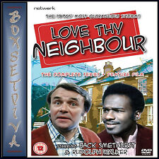 LOVE THY NEIGHBOUR -COMPLETE SERIES 1 - 8 PLUS FEATURE FILM BRAND NEW DVD BOXSET