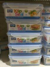 Sozali Klip Sceau hermétique conteneurs 1.5 Litres Micro Réfrigérateur Congélate...