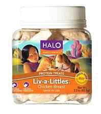 Halo Liv-A-Littles Holistic Freeze Dried Dog & Cat Treats 2.2oz Chicken Breast