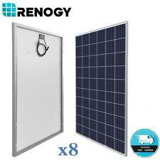 8x Renogy 270W 24V Solar Panel Off Grid On Grid Solar System 2160W 2000W RV Home