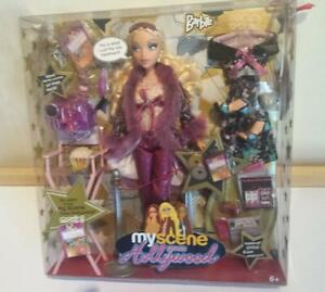 2005 NEW BARBIE MY SCENE GOES HOLLYWOOD Barbie doll gift set clothes accessories