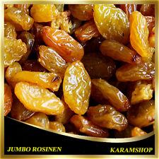 (10,98€/1Kg) Jumbo Rosinen Gelb-Rosinen-Steinlos Golden Jumbo Rosinen-1000g