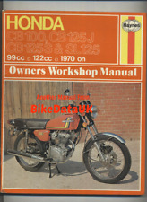 Honda CB125S CB125J (1970-1976) Haynes Shop Manual Book SL CB 100 125 S J CS67