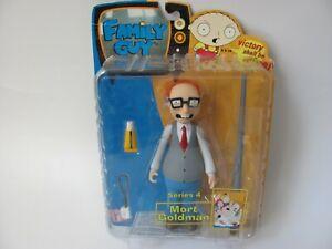 Family Guy Mort Goldman Figure Series 4 Mezco Toy Narrow Eyes Variant NIB NEW!
