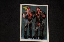 AX & SMASH DEMOLITION 1990 CLASSIC WWF SIGNED AUTOGRAPHED CARD #6