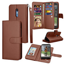 Luxury Leather Wallet Case Flip Holder Card Protective Stand Phone Cases Cover