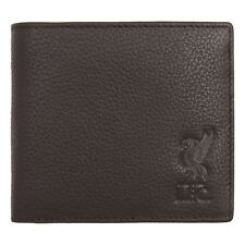 Liverpool FC LFC Brown Leather Wallet Official