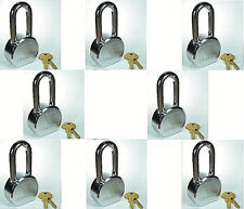 Lock Set by Master 6230KALH (Lot 8) KEYED ALIKE Long Shackle Solid Steel Body