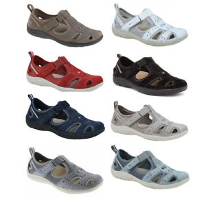 Earth Spirit Cleveland Touch Fastening Summer Ladies Shoes Comfort Soles