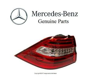 For Mercedes Benz W166 ML-Class Driver Left Outer Taillight Assembly Genuine