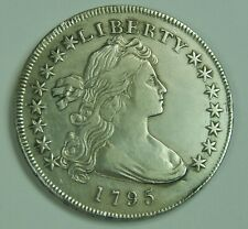 1795 Draped Bust Silver Dollar Small Eagle Off Center Bust High Grade $1 Lot F51