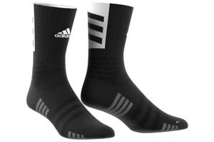 adidas Creator 365 Crew Socks Black Basketball Men's Sport Training socks EJ8540