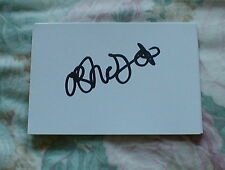 SIGNED OLAMIDE SHODIPO  Q.P.R   WHITE CARD