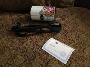 NEW 2009 Little Earth Metal Clutch Crossbody Handbag Hello Cupcake Jeweled Rare