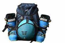 Ski Boot Backpack/Boot Bag- Super Durable, Lightweight for ski Boots, Black