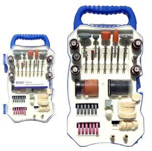 KIT 82 accessori mini trapano dremel punte per lucidare levigare in valigetta