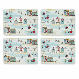 4 Placemats Beside the Sea Cooksmart