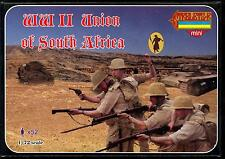 Strelets Models 1/72 UNION OF SOUTH AFRICA WORLD WAR II SOLDIERS Figure Set