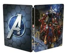 NEW! MARVEL AVENGERS STEELBOOK CASE (PS4, PS5, XBOX, PC) *NO GAME* - SEALED!