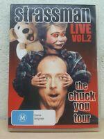 Strassman Live Vol.2 DVD Comedy Ventriloquist David Strassman - Region 4 Aus