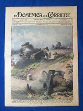 La Domenica del Corriere 22 maggio 1938 Spagna - San Bernardo - Agente grigio