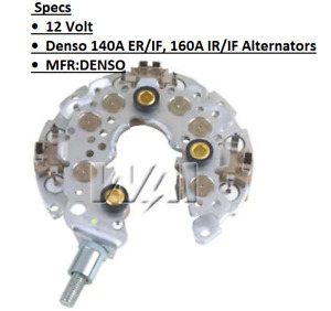 ALTERNATOR RECTIFIER FOR Chrysler (2007-2010) , Dodge (2008-2010) , Volkswagen