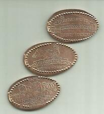 3 Copper elongated pennies (cents) Great Platte River Road Archway Monument