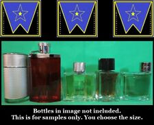 Alfred Dunhill Men edt Cologne Decant Sample Lot Icon Desire *Read Description*