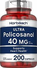 ✨ Policosanol 20mg | 200 Capsules | Supports Cholesterol and Heart Health  ✨