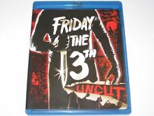 Friday the 13th - Part One - Blu-ray , 2009 (Uncut Edition) Horror Movie