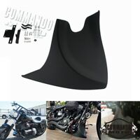 Motorcycle Lower Chin Fairing Front Spoiler For Harley Sportster XL Dyna Fatboy