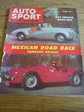 AUTOSPORT REVIEW MAGAZINE  - MARCH 1953 jm
