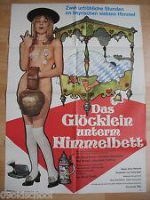 DAS GLÖCKLEIN UNTERM HIMMELBETT -KINOPLAKAT A1 B- Hans Kraus Christine Schuberth
