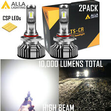 Alla Lighting LED 9005 Headlight Bulb Great Fit Dust Cover Seal High Beam|DRL 2X