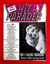 Hit Parader Magazines Lot of 3 1940s Delores Moran Deanna Durbin T10c