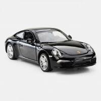 Porsche 911 Carrera S Coupe 1:24 Collectible Car Model Diecast Vehicle Black