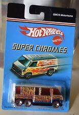 Hotwheels SUPER CHROMES GMC MOTORHOME NEW