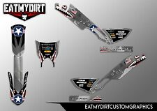FOR YAMAHA TRICKER 250 GRAPHICS KIT STICKERS MX DECALS TRIALS MOTOCROSS XG XG250