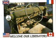 WW2 - CP - Welcome our Liberators - Jeep Willys