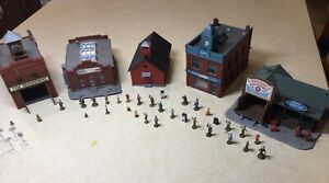 Tyco - HO Scale - Commercial Building Lot