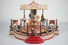 MR. Christmas Victorian Carousel MUSIC BOX – Funktioniert vollständig!!