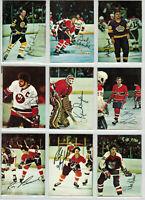 1977-78 O-Pee-Chee NHL hockey squared corners complete glossy card set of 22 NM