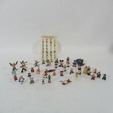 More details for marx disneykins figurines bundle x40 miniature plastic walt disney characters
